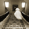 Ghost Bride Stairs BW