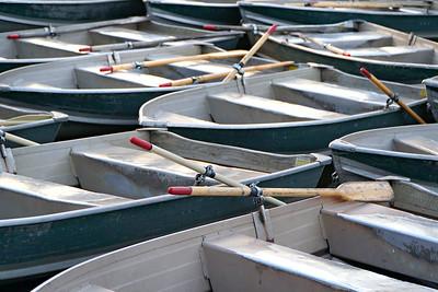 Central Park row Boat
