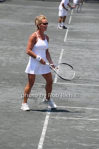 Easthampton- June27,2009:(l-r)  Susan McMenamin attends  the Ross School 1st. Annual Pro Am Tennis Tournament at the Ross School in Easthampton on June 27,2009. photo by Rob Rich/SocietyAlllure.com