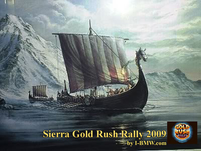 The Sierra Gold Rush Rally 2009