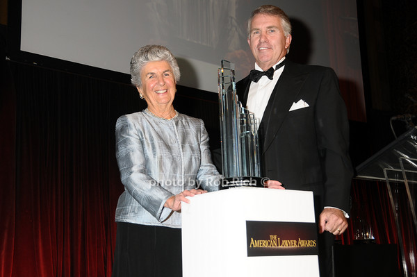 Joan Bernstein, Jack Ford<br /> photo by Rob Rich © 2009 robwayne1@aol.com 516-676-3939