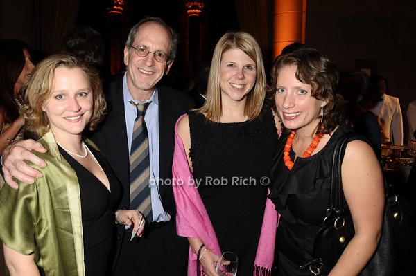 Amy Miller, David Hechler, Theodora Blanchfield, Maggie Solavay<br /> photo by Rob Rich © 2009 robwayne1@aol.com 516-676-3939