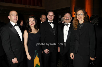 Larry Rosenthal, Anna Erenburg, Todd Melgar, Mark Verdirame, Dorothy Auth photo by Rob Rich © 2009 robwayne1@aol.com 516-676-3939