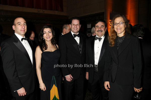 Larry Rosenthal, Anna Erenburg, Todd Melgar, Mark Verdirame, Dorothy Auth<br /> photo by Rob Rich © 2009 robwayne1@aol.com 516-676-3939