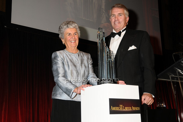 Joan Bernstein, Jack Ford<br /> photo by Rob Rich © 2009 robwayne1@aol.com 516-676-3939