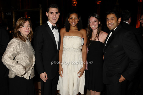 Angela Burgess, Ian Richardson, Nadia Moore, Melissa King, Sager Ravi<br /> photo by Rob Rich © 2009 robwayne1@aol.com 516-676-3939