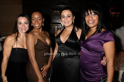 Lisa Corrigan, Iris Cooper, Roseanne Agostino, Yanique Eames photo by Rob Rich © 2009 robwayne1@aol.com 516-676-3939
