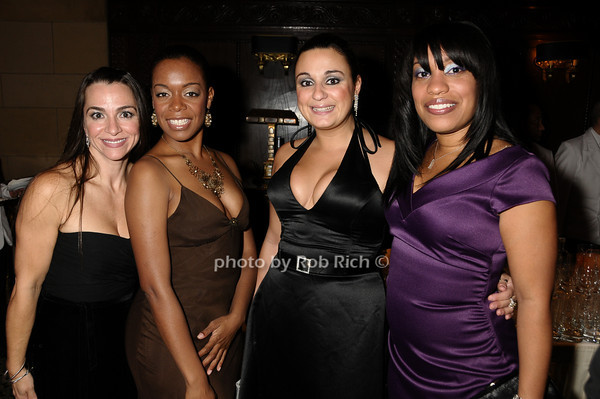 Lisa Corrigan, Iris Cooper, Roseanne Agostino, Yanique Eames<br /> photo by Rob Rich © 2009 robwayne1@aol.com 516-676-3939