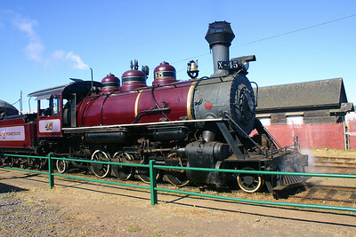 The Skunk Train - Fort Bragg, CA