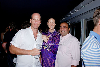 Rory, Fabienne Terwinghe and Steve Kamali