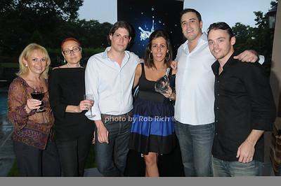 Rita Dodrere, Irina Chaussay, Stefano Saccani, Eleni Makriannis, Matt McClintock, John Day  photo  by Rob Rich © 2009 robwayne1@aol.com 516-676-3939