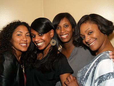 """The Surburban Socialites of Atlanta"" (L) to (R) Nicola, Ayana, Monique and Sybrina Dean Stupart."