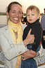 Rebecca Burns and Declin Burns<br />  photo  by Rob Rich © 2009 robwayne1@aol.com 516-676-3939