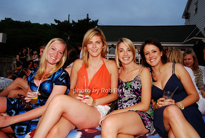 Ellen Murphy, Caroline Young, Stephanie Wolff and Jennifer Sbayard photo by Rob Rich © 2009 robwayne1@aol.com 516-676-3939