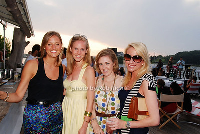 Christine Kistner, Margot Lynn, Courtney Wein Blatt and Caroline Guthrie photo by Rob Rich © 2009 robwayne1@aol.com 516-676-3939
