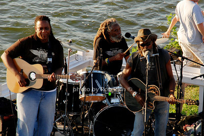 Bankie Banx & Roots & Herb at the Surf Lodge Bankie Banx(singer)  Marley Eiford(Guitarist) Toshi(Drums) and Marley ( Bass Guitar)