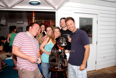 John Klein, Jana Klein, Melissa Lander, Paul Schmidt and Michael Lander and Zoe(the dog)
