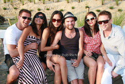 David Weigel, Georgie Weigel, Sylvia Kwon, Andrew Buckler, Melissa Bamber, Mark Bamber photo by Rob Rich © 2008 516-676-3939 robwayne1@aol.com