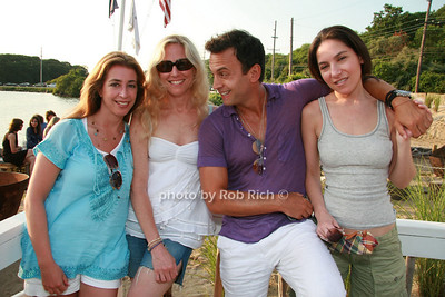 Lisa Mathias, Shari Schmeltzer, Scott Pardo, Kelli Bender photo by Rob Rich © 2008 516-676-3939 robwayne1@aol.com