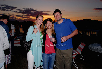 Prudence Purcell, Kara Sweeney and Bill Wright