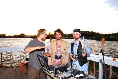 Zach Bliss, Rob Mckinley and Friend