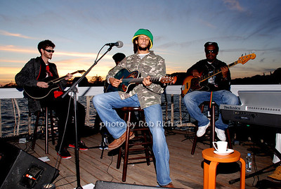 The Snow Queen Concert Series at the Surf Lodge, featuring a performance by Julian Marley