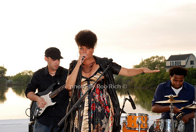 The Stephanie McKay Band.  Stephanie McKay(Lead Singer), Eli Menesez(Guitar), Manny Laine(Drums) and Steve Styles(Bass)