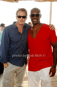 Jason Lewis and Tyson Beckford @ the Surf Lodge in Montauk on 6-7-08. photo by K.Doran for Rob Rich © 2008 516-676-3939 robwayne1@aol.com