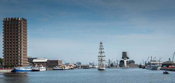 The Tall Ships Race Antwerp 2016