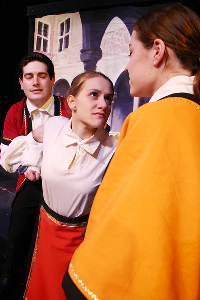 Baptista, Kate and Hortensio