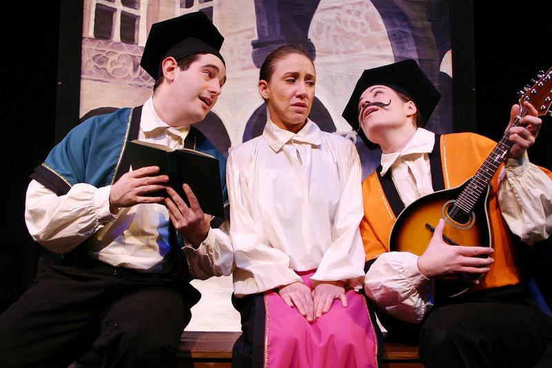 Lucentio, Bianca, and Hortensio