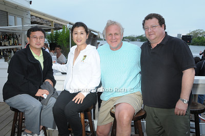 Tom Lin, Erin White,Gary Swanson, Chris White photo by Rob Rich © 2009 robwayne1@aol.com 516-676-3939