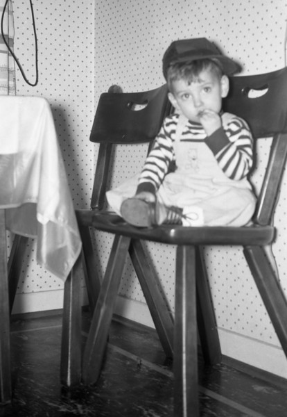 Here I am, sitting in the Kitchen at 213 South Main Street.