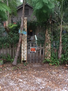 Clarice's house in Apalachicola.