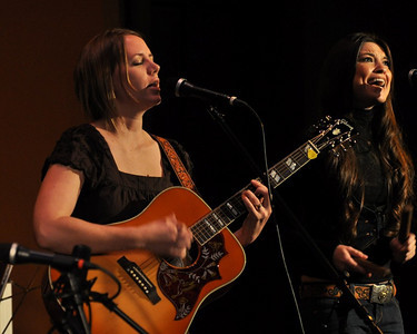 Jamie Wilson and Liz Foster