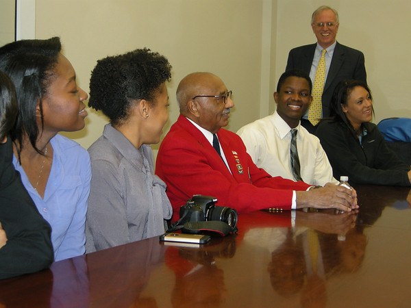 The Tuskegee Airmen visit the Flint Hill School