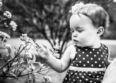 flower girl bw (1 of 1)