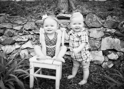 Twins! bw (1 of 1)