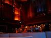 empty blurry stage