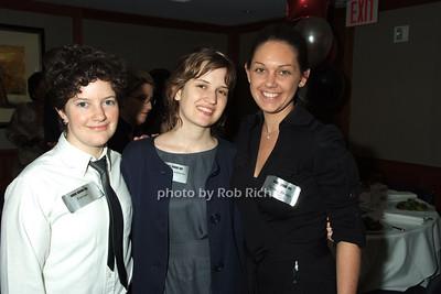 Rebecca Fureigh, Ms.Johnson, Shaunna Thomas photo by Rob Rich © 2008 robwayne1@aol.com 516-676-3939