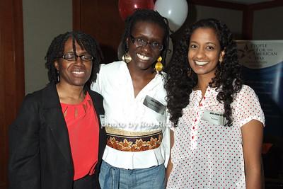 Lorna Woodham, Tanisha Douglas, Neelam Tathikonda photo by Rob Rich © 2008 robwayne1@aol.com 516-676-3939