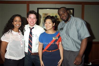 Neelam Tathikonda, Harper Caymen, Julia Rhee, Allen Frinpong photo by Rob Rich © 2008 robwayne1@aol.com 516-676-3939
