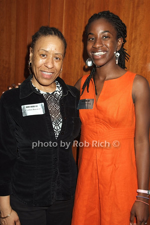 Cynthia Bowman, Claudia Ahwireng photo by Rob Rich © 2008 robwayne1@aol.com 516-676-3939
