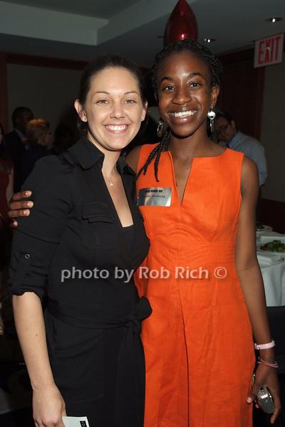Shaunna Thomas, Claudia Ahwireng<br /> photo by Rob Rich © 2008 robwayne1@aol.com 516-676-3939
