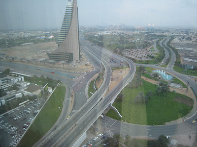 Taken from the Monarch Hotel (an excellent new hotel at No 1 SZR)