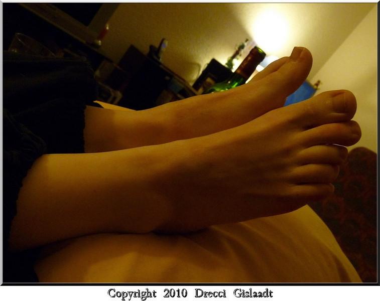 Les pieds de Suzanne
