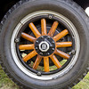 And the beautifully created and maintained wheels of the Dodge