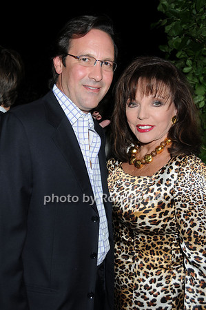 Percy Gibson, Joan Collins photo by Rob Rich © 2008 516-676-3939 robwayne1@aol.com