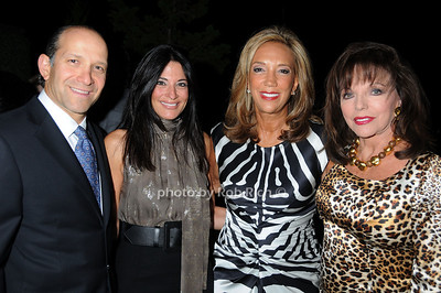 Howard Lutnick, Allison Lutnick, Denise Rich, Joan Collins photo by Rob Rich © 2008 516-676-3939 robwayne1@aol.com