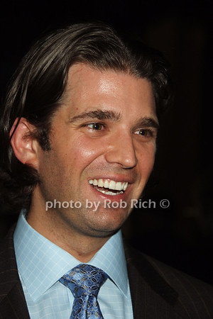 Donadl Trump jr.  photo  by Rob Rich © 2008 robwayne1@aol.com 516-676-3939